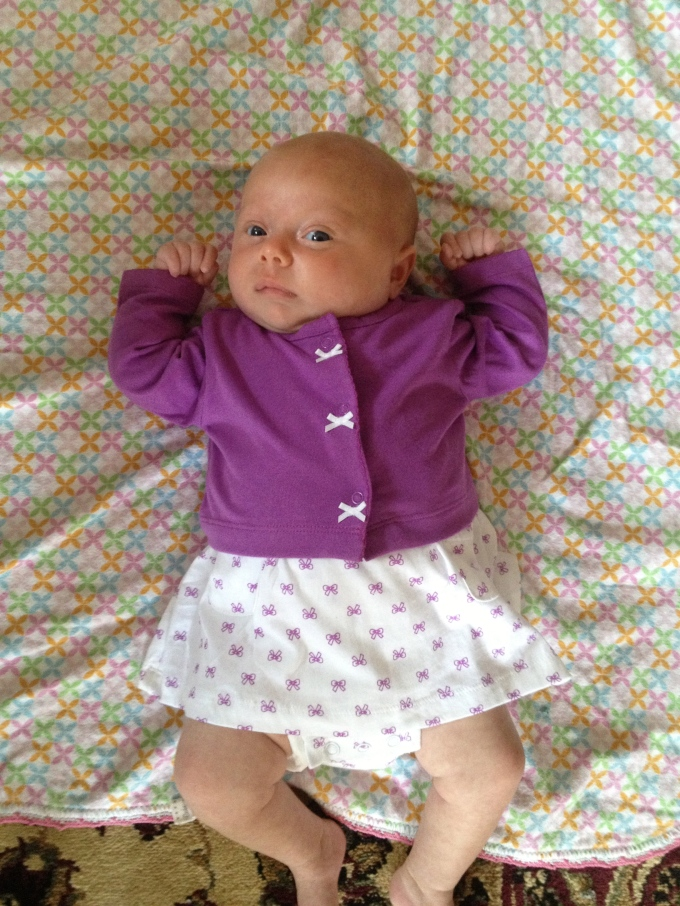 Emma at 6 weeks