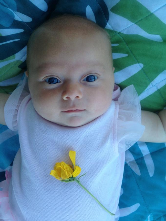 Emma at 2 months :-)