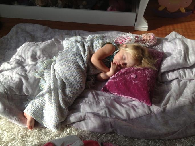 sleeping beauty :-)