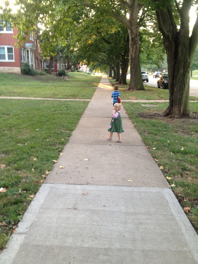 "Walking ""The Path"""