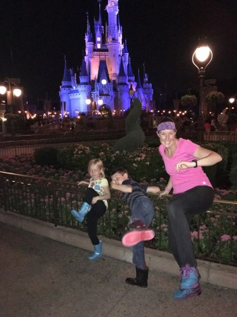 all 3 karate pose magic kingdom