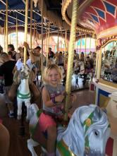 Emma carousel Disney 2017
