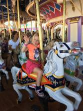 Hannah carousel Disney 2017