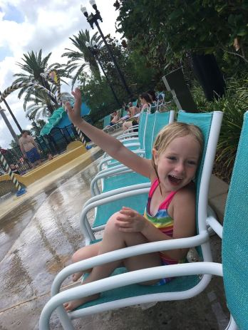 Hannah saying hi! Port Orleans Resort 2017